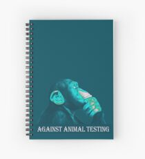 AGAINST ANIMAL TESTING Spiralblock