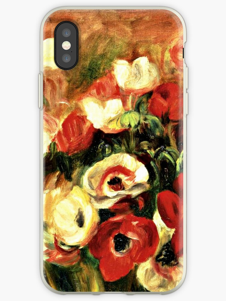 Renoir - Spray of Anemones by virginia50