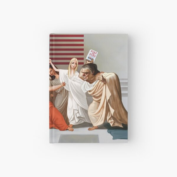 Donald Caesar (Fire and Fury) Hardcover Journal