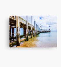 Safety Beach Jetty, Mornington Peninsula Canvas Print