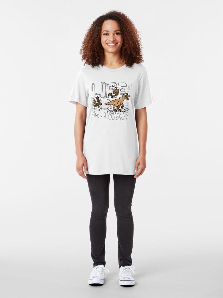 Alternate view of Baby dinosaurs Slim Fit T-Shirt