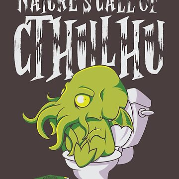 Nature's Call of Cthulhu by Caravaggio87