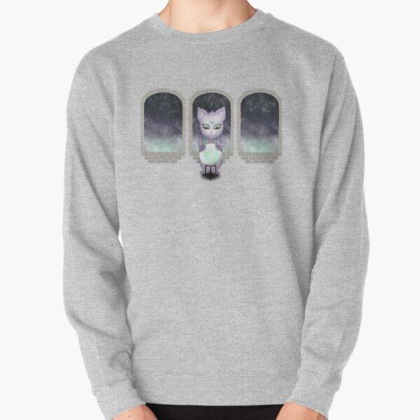 Mystic Miku | Crystal Ball & Zodiac | Light Purple Pullover Sweatshirt