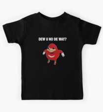 Uganda Knuckles - Do You Know The Way? Kids Tee