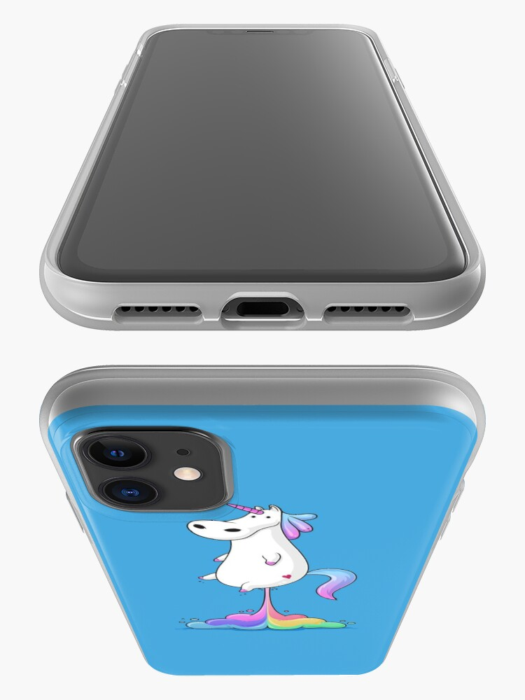 Alternate view of Unicorn Fart iPhone Case & Cover