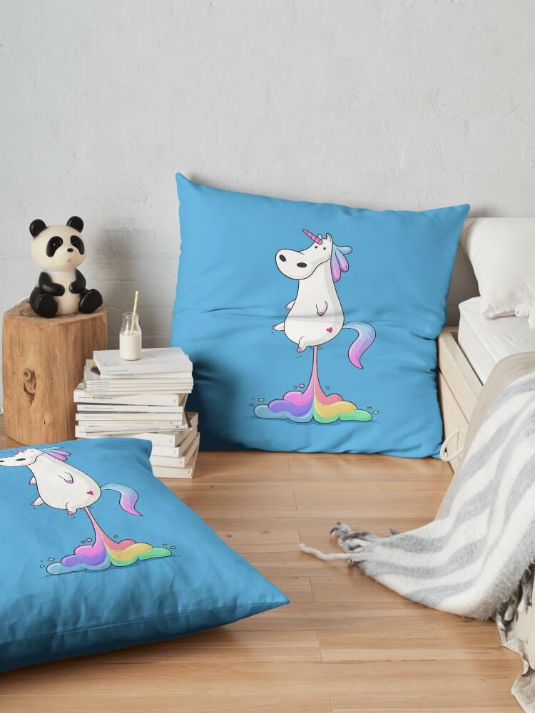 Alternate view of Unicorn Fart Floor Pillow