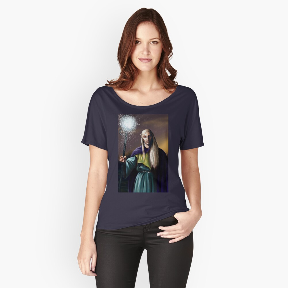 Elven Wizard Women's Relaxed Fit T-Shirt Front