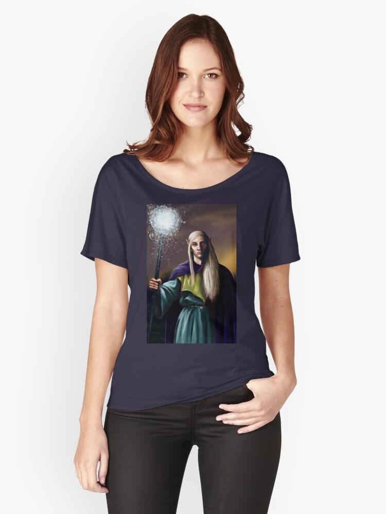 Elven Wizard Women's Relaxed Fit T-Shirt Front