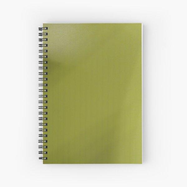 Yellow Surface Spiral Notebook