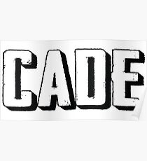 Name Cade / Inspired by The Color of Money Poster