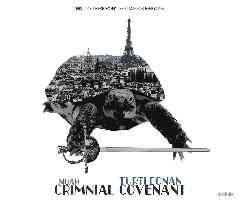 Noah: Criminal Covenant - Turtlegnan by stelvio