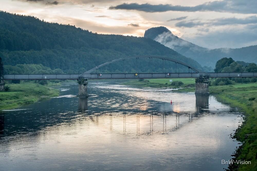 Elbe, Bad Schandau by BnW-Vision