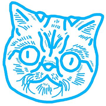 Cat Face Design by TheCartoonHouse
