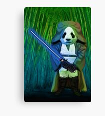 Master Panda Canvas Print