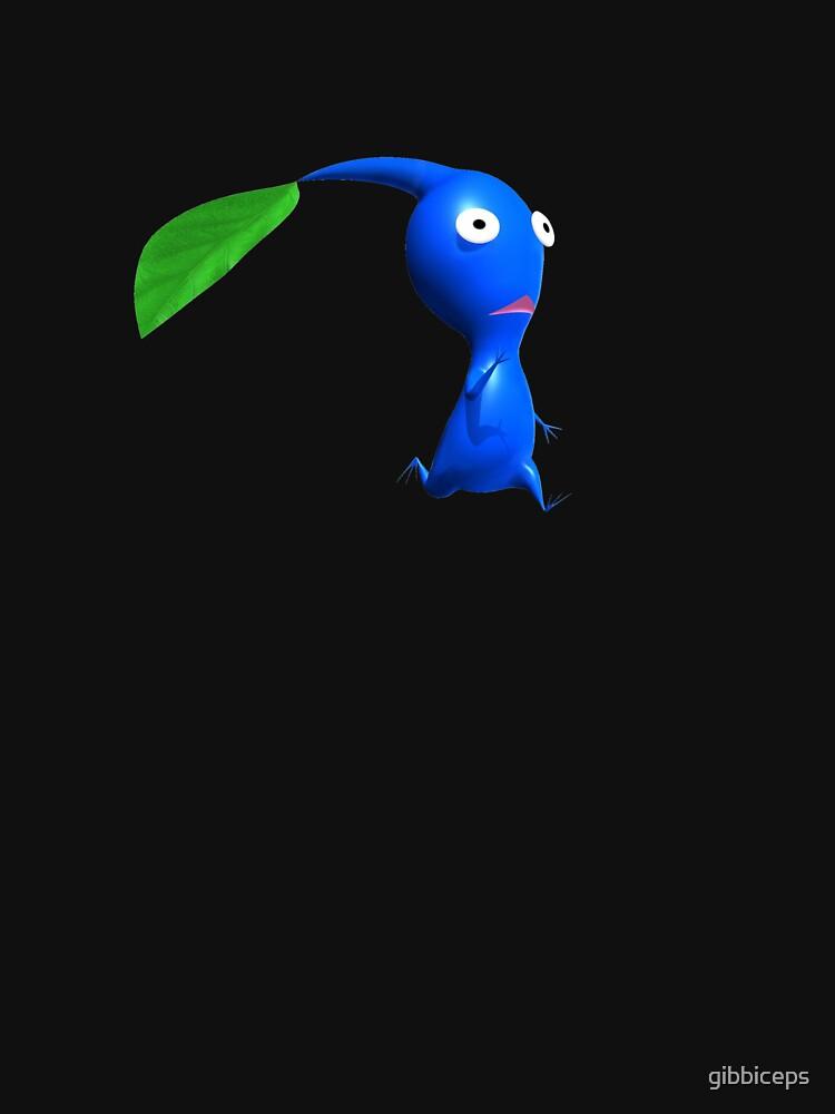 blue pikmin retro by gibbiceps