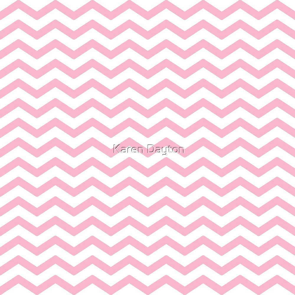 Pink Chevron Pattern by shorelinedesign