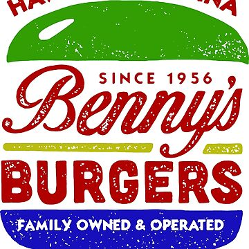 Benny's Burgers - Hawkins, Indiana by happinesart