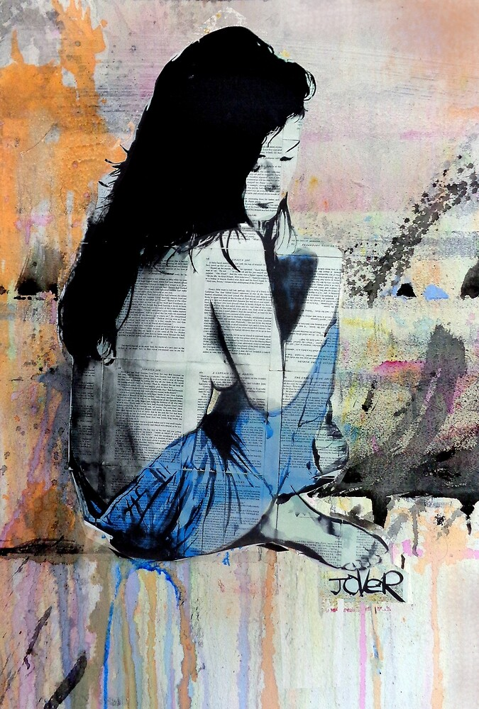 paste up study by Loui  Jover