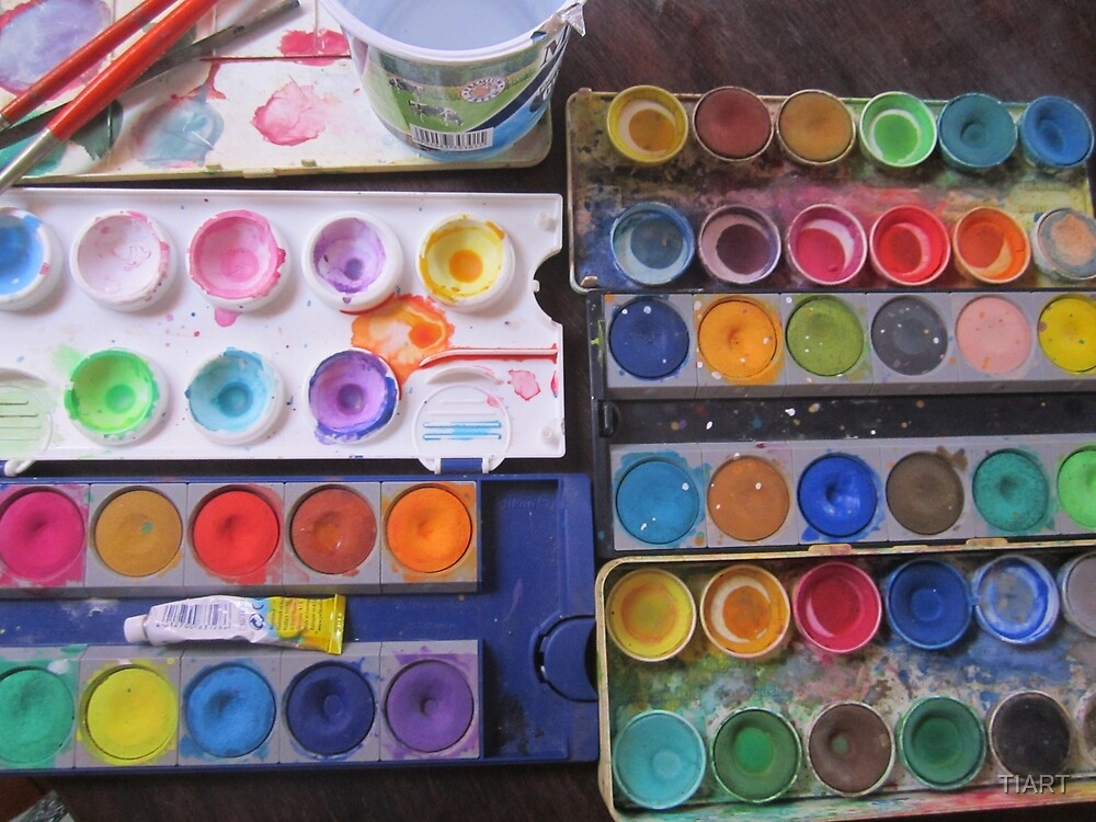 Watercolors by TIART