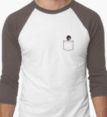 Bob Ross Pocket Men's Baseball ¾ T-Shirt