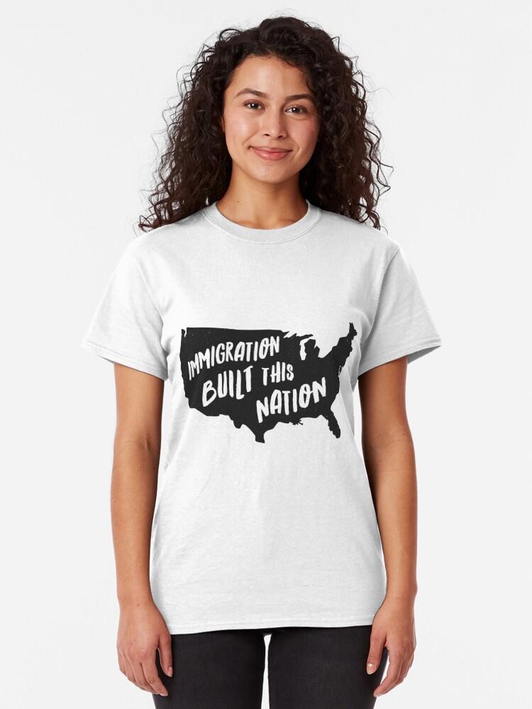 Immigrant T-shirt Protest Various Sizes//Colours Political