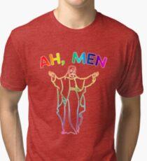 Amen, Ah - men Tri-blend T-Shirt