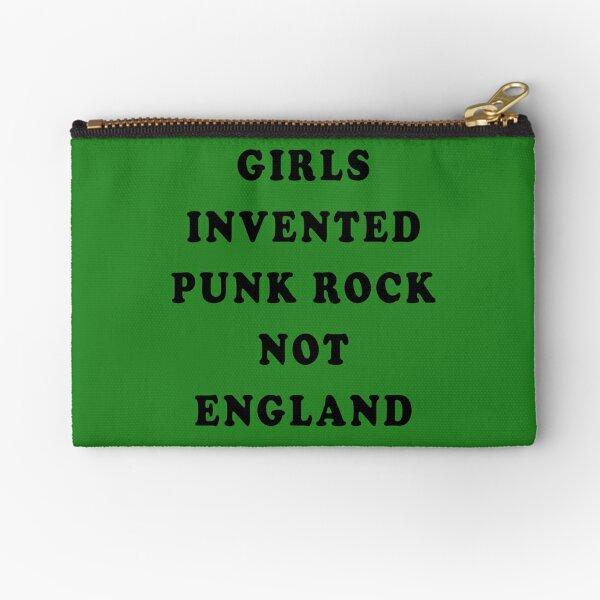 Girls Invented Punk Rock Not England Zipper Pouch