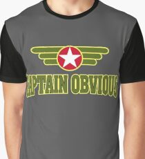 Captain Obvious Graphic T-Shirt