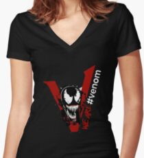 We Are Venom Women's Fitted V-Neck T-Shirt