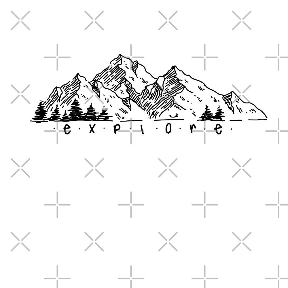 exploring mountain design  by artbymj