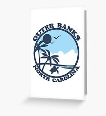 OBX - Outer Banks. Greeting Card