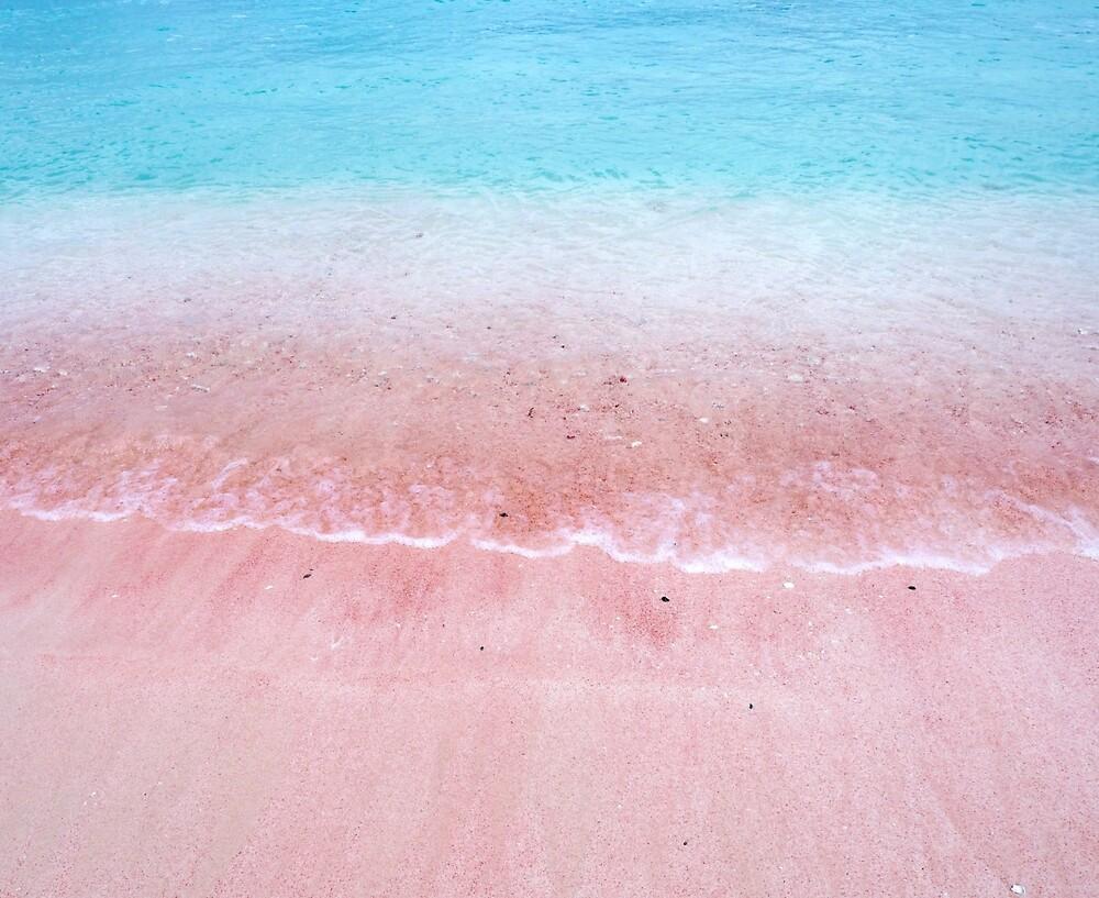 Pink Beach by ellamonday