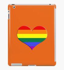 gay heart - gay, love, csd, rainbow, lesbian, pride iPad Case/Skin