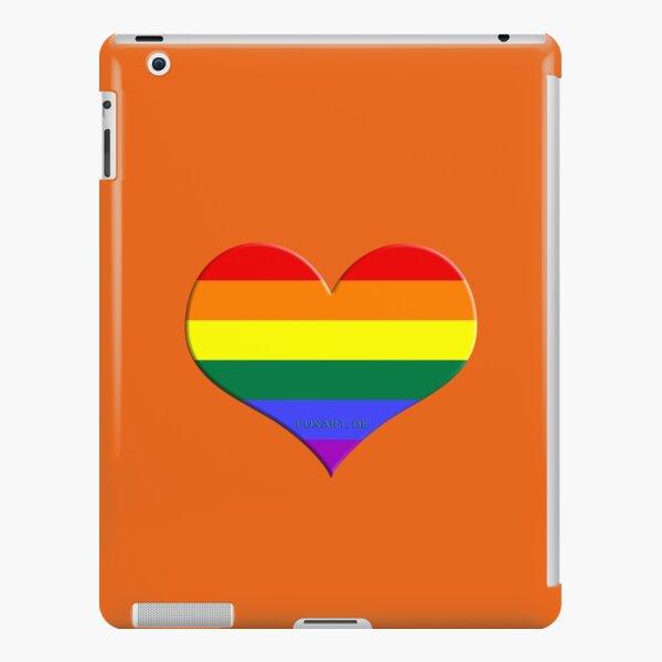 gay heart - gay, love, csd, rainbow, lesbian, pride iPad – Leichte Hülle