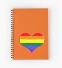 gay heart - gay, love, csd, rainbow, lesbian, pride Spiralblock