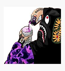 Bape Hypebeast sippin on Lean Photographic Print