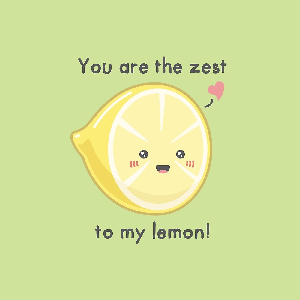 Zesty Lemon by IDrawFoodles