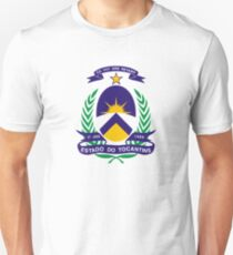 Coat of Arms of Brazilian State of Tocantins  Unisex T-Shirt