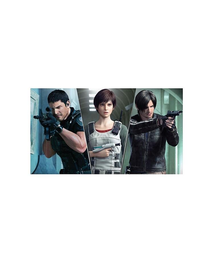 Resident Evil Vendetta Chris Rebecca And Leon Ipad Case Skin