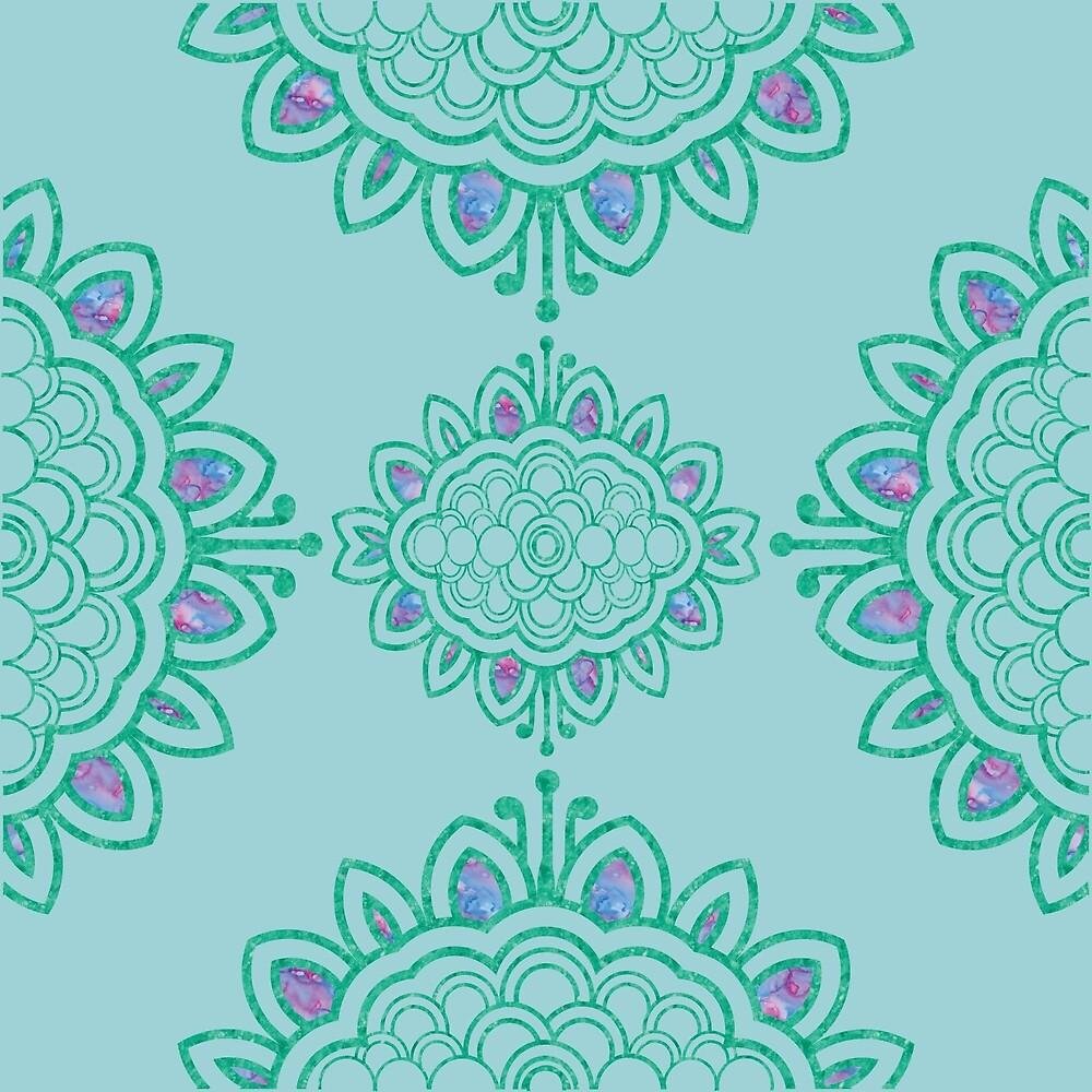 Batik Mandala by Anna Lemos