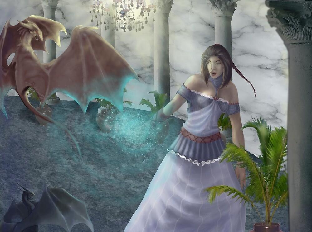 Dragon Fight by Jen144