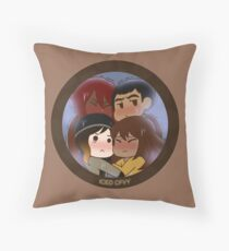 Iced CFVY Throw Pillow