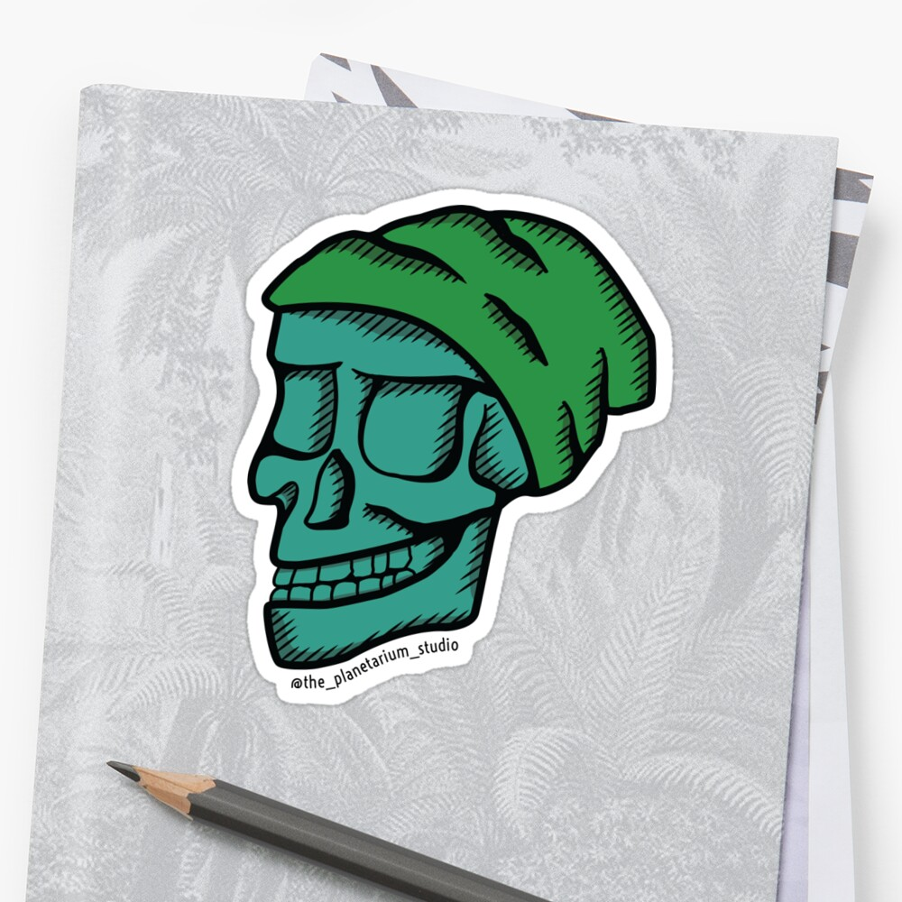 Hipster Skull by The-Planetarium