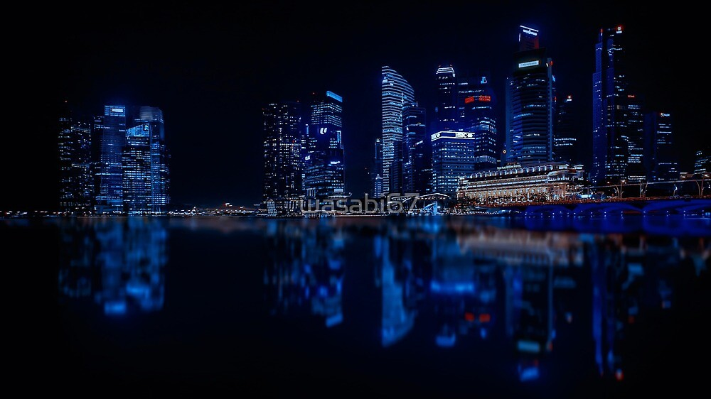 Blue City by wasabi67