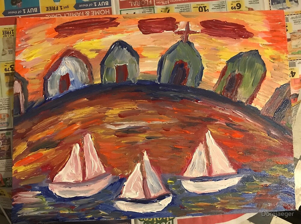Sail boats  by Dorejaeger