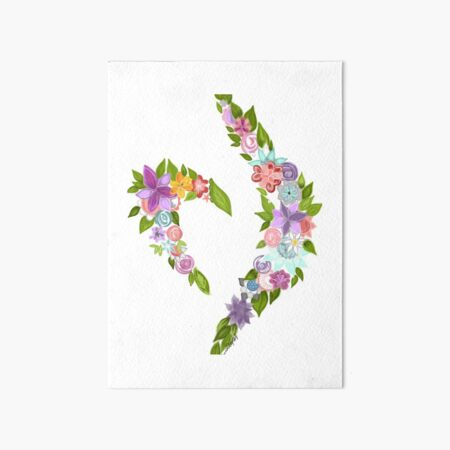 Eating disorder recovery symbol Art Board Print