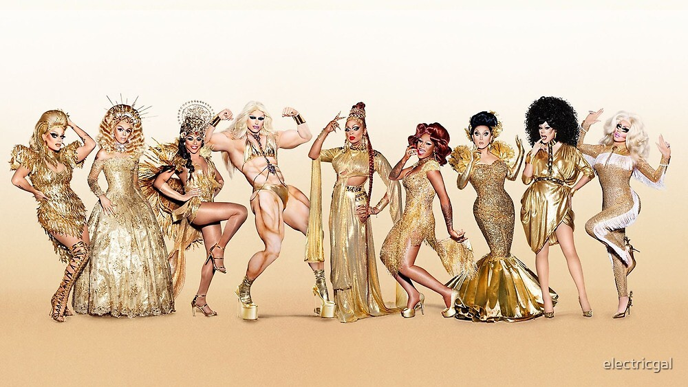 rupaul's drag race, all stars season 3 by electricgal