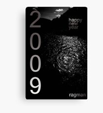 2009 Happy New Year Canvas Print