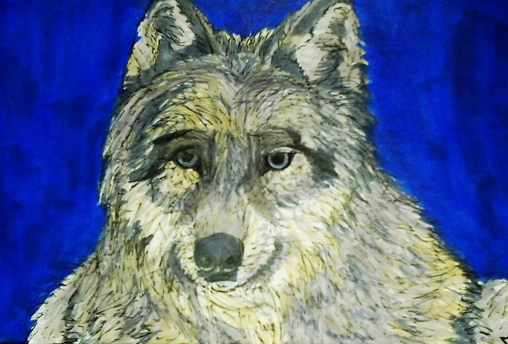 Lone Wolf by daniexmachina