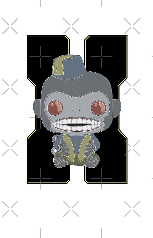 Monkey Bomb!  by DreamingTaurus